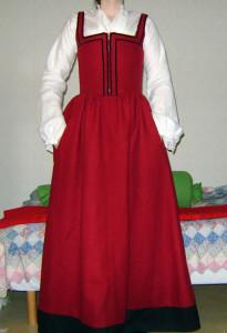 Lia de Thornegge's Red petticoat