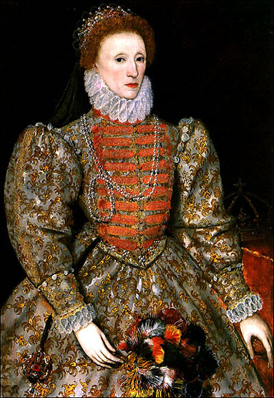 The Infanta Isabella Clara Eugenia attrib. Coello (1579) Anne of Austria Queen of Philip II of Spain ...  sc 1 st  Elizabethan Costuming Page & Donna Scarfeu0027s Perfect Gown