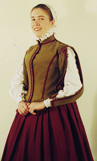 1580s Kirtle & Doublet
